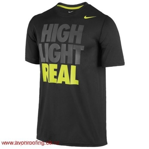 Nike Other - °Nike° Dri Fit Neon Athletic Printed T-Shirt
